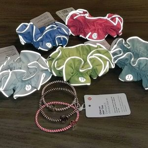 NEW Lululemon Scrunchies and Hair Ties